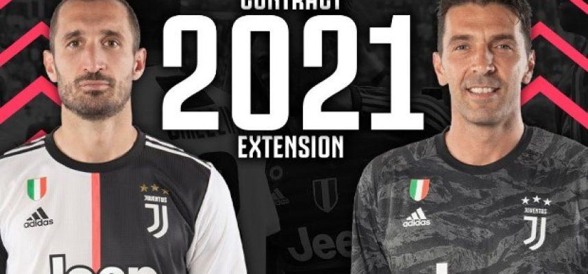 Джанлуиджи Буфон и Джорджо Киелини официално се обвързаха с Ювентус bet365