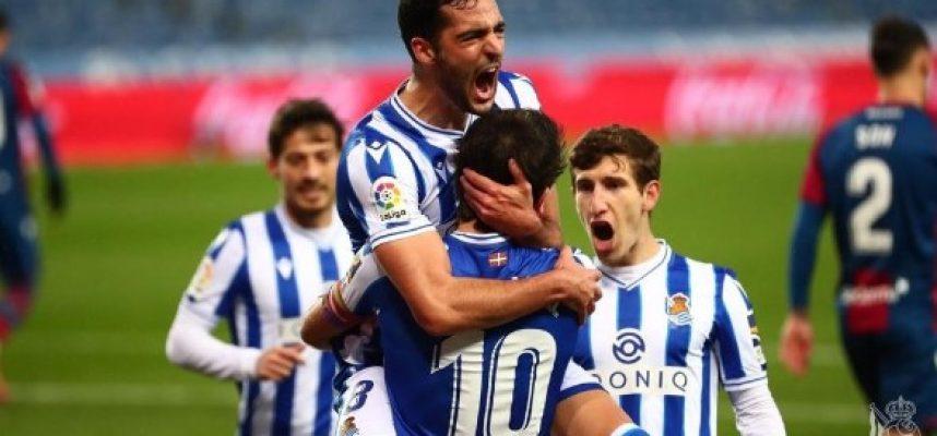 Реал Сосиедад победи с 1:0 Леванте bet365