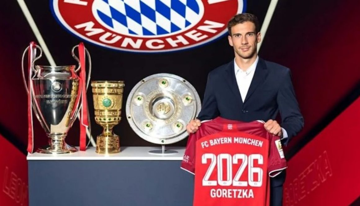 Байерн Мюнхен обяви официално подписването на нов договор с халфа Леон Горетцка bet365